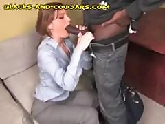 At Her Office A Young Lady Executive Gets A Black Dick Surprise
