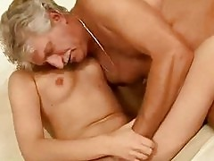 Young girl fucking with her old boyfriend