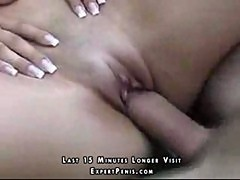 Teen sex outdoors with a big cock dude
