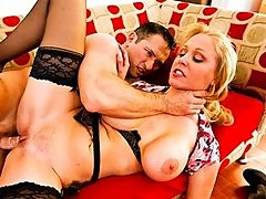 Cheating big-tit wife gets ass-fucked hard and punished for divor