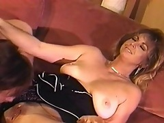 Piper Jo Spentz sucks younger cock