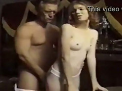 Skinny Anne Howe's first penetration in ever hole