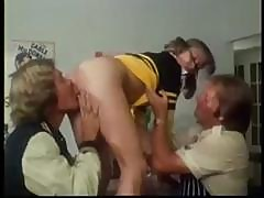 Vintage Hardcore Porn With Classic Star Cheerleader Marilyn Chambers In A Threesome