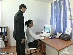Secretary gets some help from boss