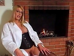 Alluring sexy tranny loves young man's cock