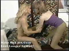 Angel-shemale fuck a hot blond girl p1