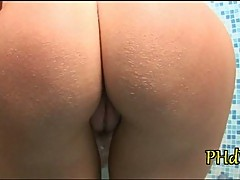 Sweet pussy for big dildo