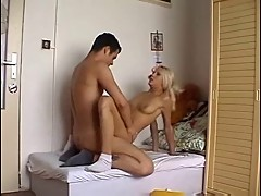 A Young Couple Spy On Parents Then Fucks Hard
