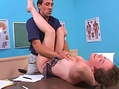 Claire Bandit fucked by her teacher