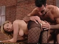 Blonde Girl Fucks Her Boss So She Can Have A Better Office