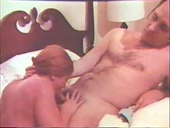 Retro lesbian sex on kitchen table