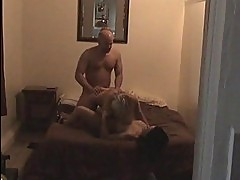Young wife fucks old couple