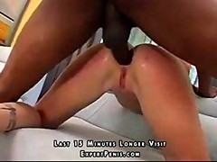 Tattooed milf anal sex with a big black cock
