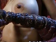 Tentacles Bang Asian Teen!