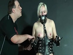 Bizarre Leather Punishment Of Teen Blonde ...