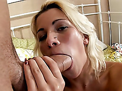 Horny girl drilling