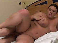Plump young Englishwoman