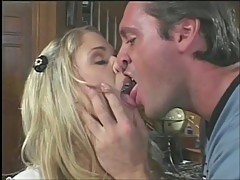 Pretty English girl loves anal