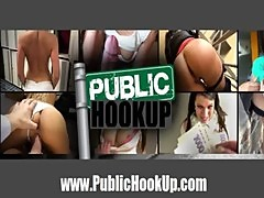 Blonde Chick Squirts and gets Ass Fucked in Public Hook Up - PublicHookup.com