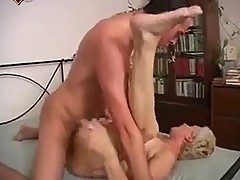 Granny Mom Wants Fuck Young Dick -NV