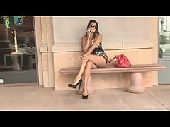 Public Show With The Naughty Teen Shazia