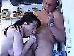mature lady enjoying a young gentlemens cock