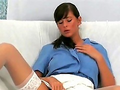 Naughty Nurse Seduces Her Boss