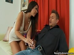 Amy Fisher Has Loud Orgasms From Younger Stud