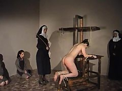 Nun gives a girl 50 lashes with a cane