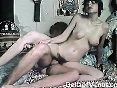 Vintage Hairy French Teen Gets Fucked - Retro 1970s