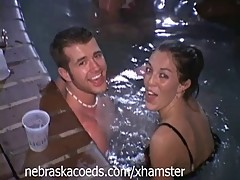 Classic Spring Break Wet T-Shirt Contest