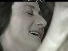 Hairy Saggy Granny Fucks A Young Cock