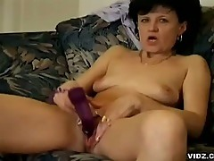 Horny granny gets it hard from young stud