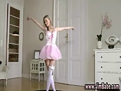 Teen turns ballerina