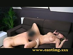 Casting - She fell in love with his big bendy cock