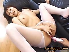 Slut Rei Himekawa Gets Anus Fucked With Toy 2 By Assnippon
