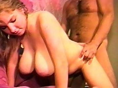 Young blonde bitch is a cock craving maniac