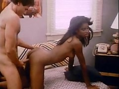 Retro fucking a young black lady