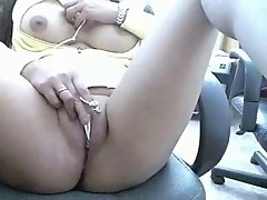 Watch nice pussy of my girlfriend on web cam