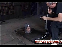 Slave Haliey Young Pervert BDSM Bizarre Training and Humilia...