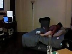 Blonde Teen Gets Nailed By Her Black Boyfriend And Caught On Tape