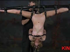 Crazy dominated slut ass toyed