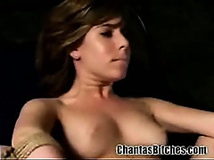 Teen in Extreme Lesbo BDSM!