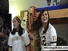 Sexy Real College Dorm Orgy