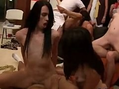 Crazy College Party Orgy