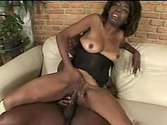 Old ebony banged by young black