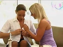Mature Woman Seduces Young Girl...F70